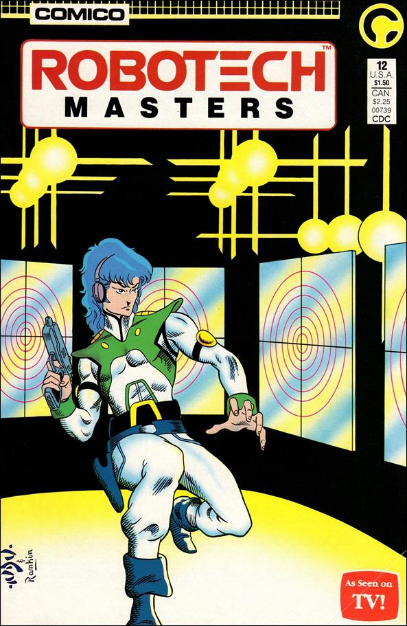 Robotech: Masters 12-A by Comico