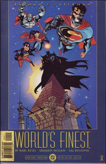 Batman and Superman: World's Finest 9-A by DC