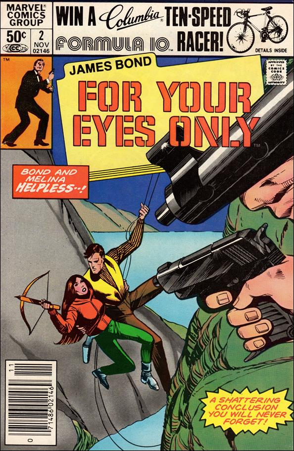 James Bond For Your Eyes Only 2-A by Marvel