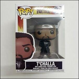 POP! Marvel T'Challa (in Black) by Funko