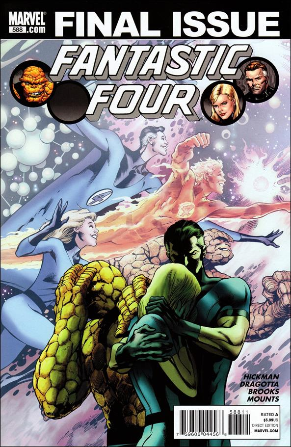 Fantastic Four (1961) 588-A by Marvel