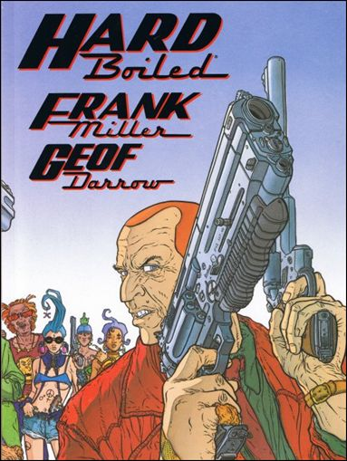 Hard Boiled 1-C by Dark Horse