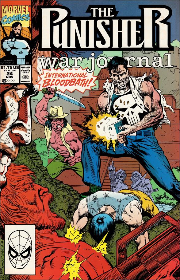 Punisher War Journal (1988) 24-A by Marvel