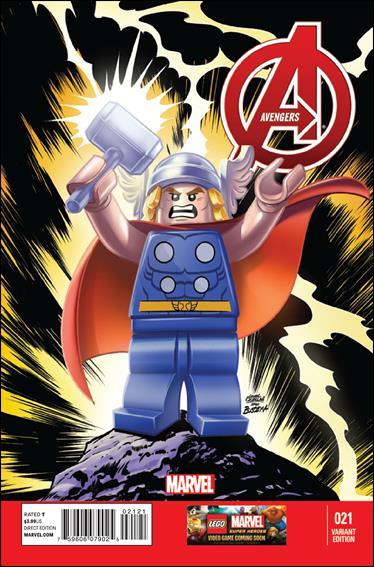 Avengers (2013) 21-B by Marvel