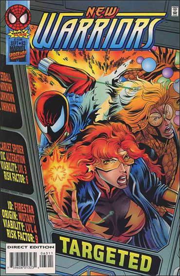 New Warriors (1990) 63-A by Marvel