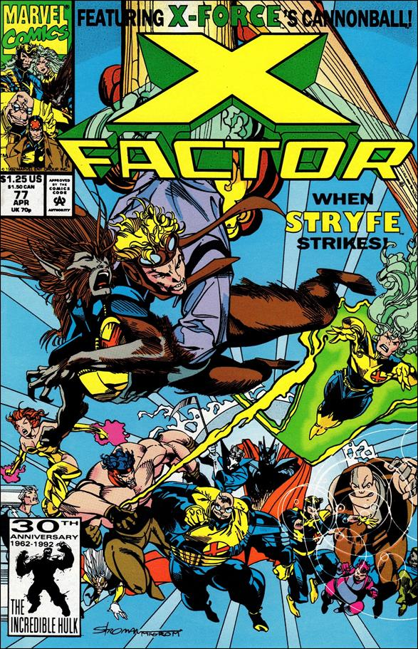 X-Factor (1986) 77-A by Marvel