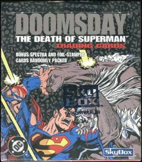 Doomsday: The Death of Superman 1-A by SkyBox
