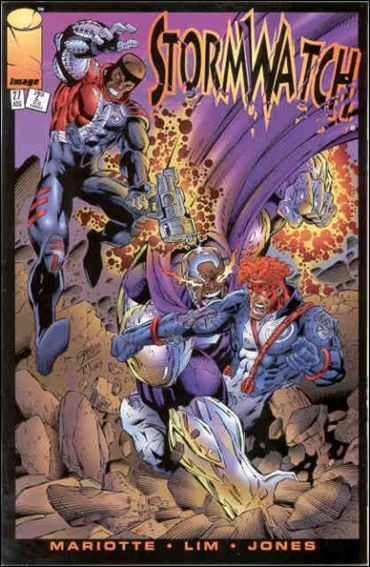 StormWatch (1993) 27-A by Image