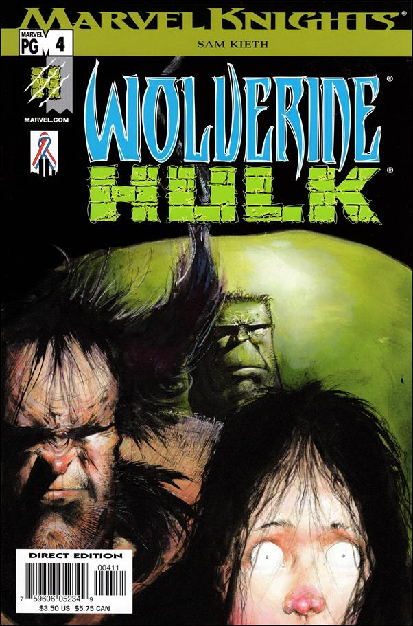 Wolverine/Hulk 4-A by Marvel