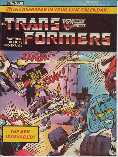 Transformers (UK) 18-A by Marvel UK