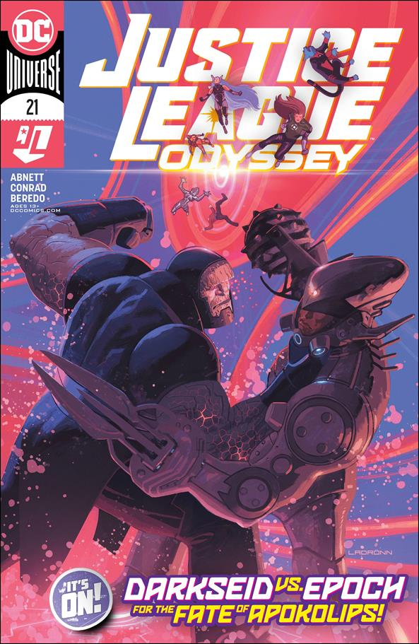 Justice League Odyssey 21-A by DC