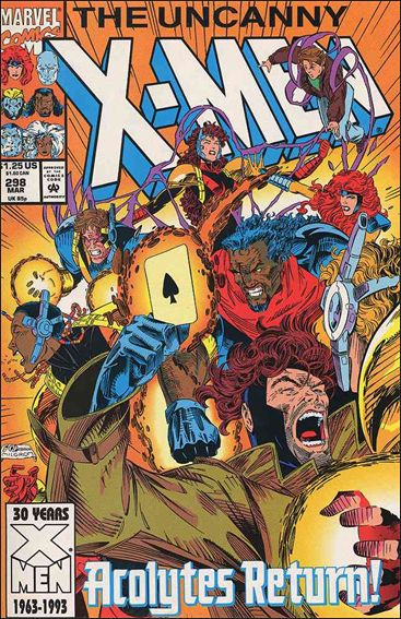 Uncanny X-Men (1981) 298-A by Marvel