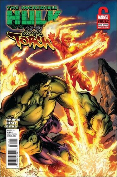 Incredible Hulk & Human Torch: From the Marvel Vault 1-A by Marvel