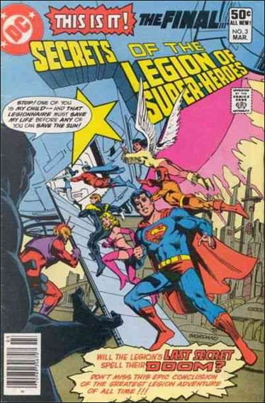 Secrets of the Legion of Super-Heroes 3-A by DC