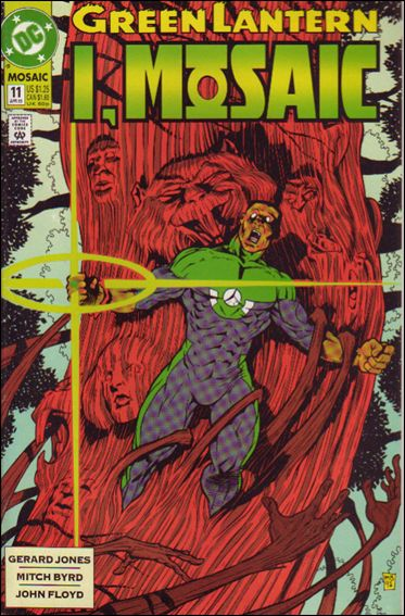 Green Lantern: Mosaic 11-A by DC