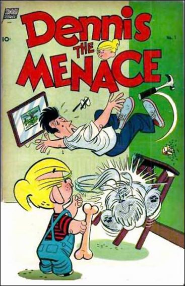 Dennis the Menace (1953) 1-A by Standard