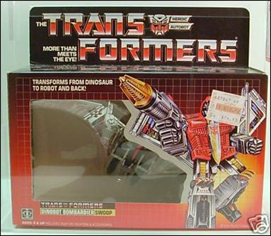 Transformers: More Than Meets the Eye (Generation 1) Swoop (Dinobot Bombardier) by Hasbro