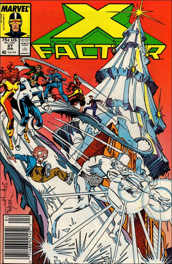 X-Factor (1986) 27-A by Marvel