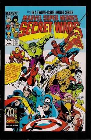 Marvel Super Heroes Secret Wars 1-D