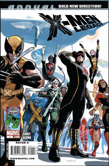 X-Men Legacy Annual 1-A by Marvel