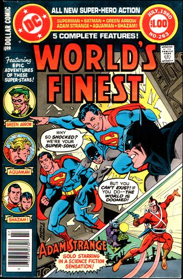 World's Finest Comics 263-A by DC
