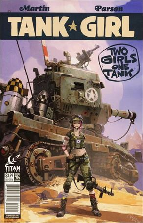 Tank Girl: Two Girls, One Tank 4-B