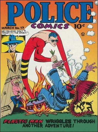 Police Comics 17-A by Comic Magazines
