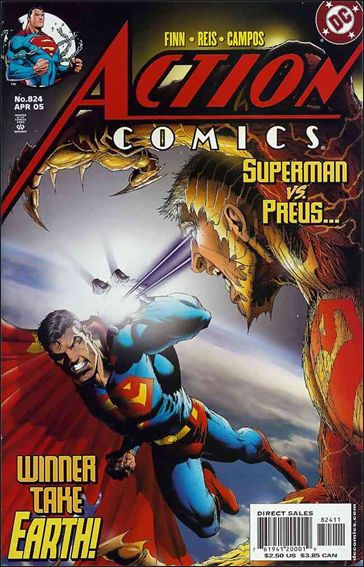 Action Comics (1938) 824-A by DC