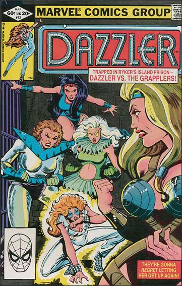 Dazzler (1981) 13-A by Marvel