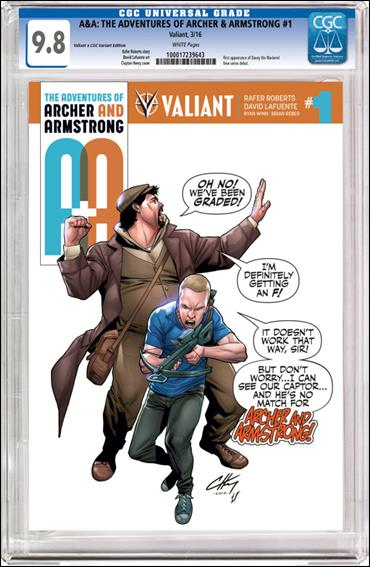 A&A: The Adventures of Archer & Armstrong 1-D by Valiant Entertainment
