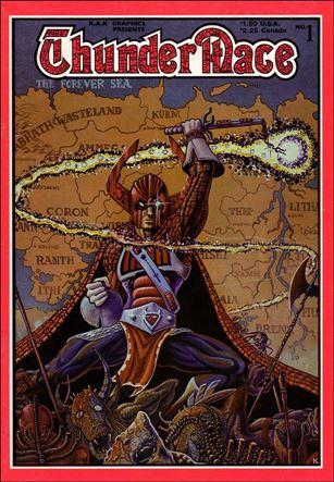 ThunderMace Comics 1-A