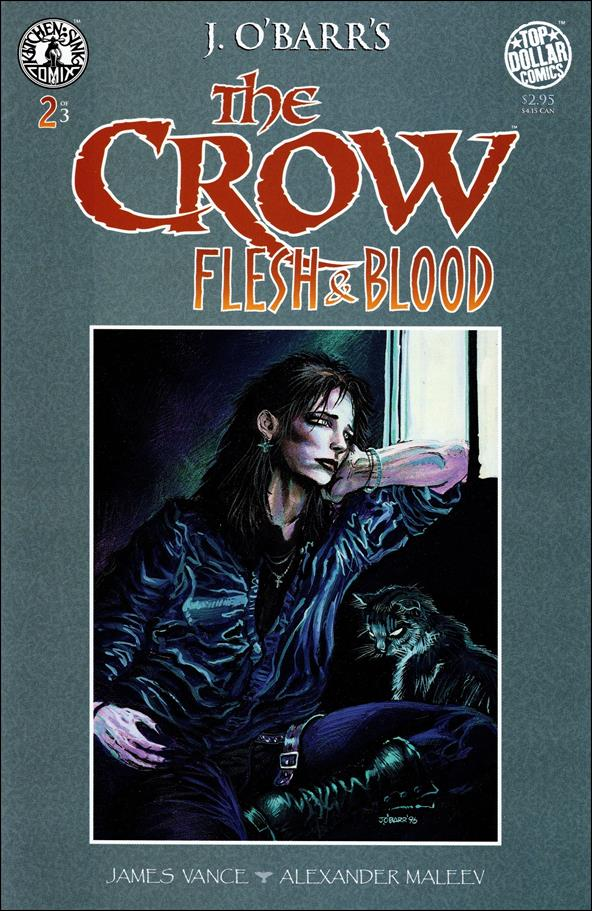 Crow: Flesh and Blood 2-A by Kitchen Sink