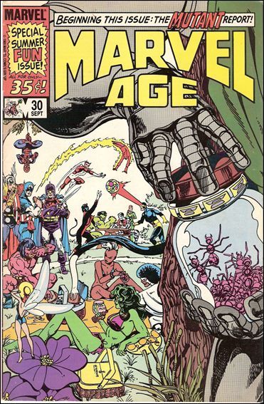 Marvel Age 30-A by Marvel
