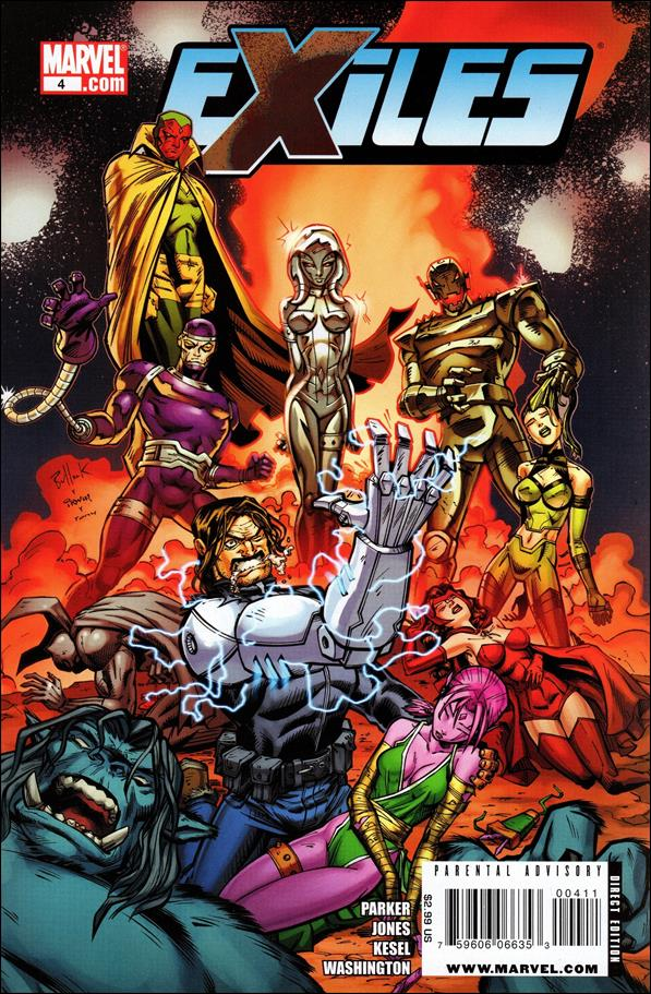 Exiles (2009) 4-A by Marvel