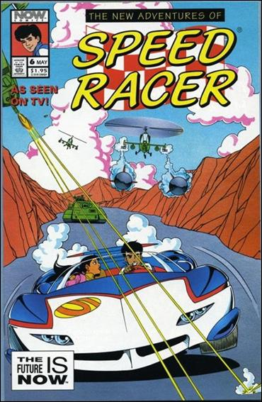 New Adventures of Speed Racer 6-A by Now Comics
