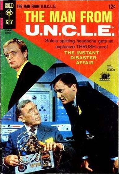 Man from U.N.C.L.E.(1965) 16-A by Gold Key