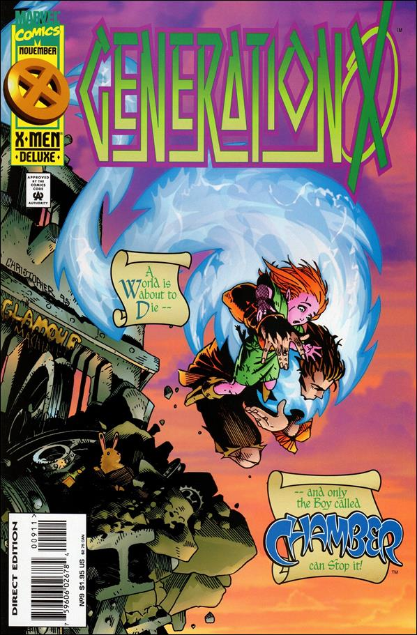 Generation X (1994) 9-A by Marvel