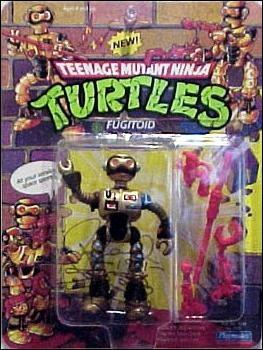 Teenage Mutant Ninja Turtles (1988) Fugitoid by Playmates
