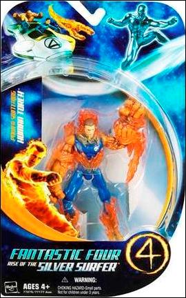 Fantastic Four: Rise of the Silv    Human Torch (Power