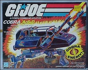 "G.I. Joe: A Real American Hero 3 3/4"" Basic Vehicles and Playsets A.S.P. (Cobra Assault System Pod)"
