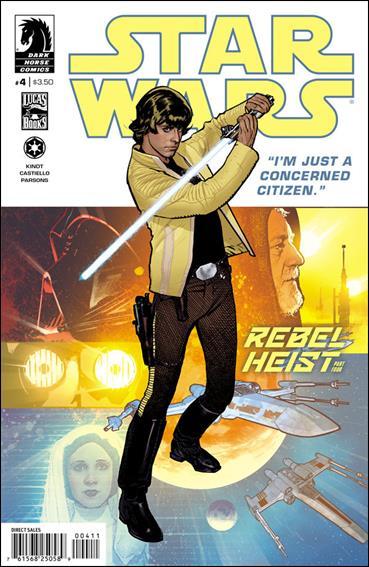 Star Wars: Rebel Heist 4-A by Dark Horse