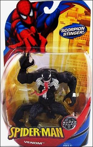 Spider-Man Classic Heroes Venom (with Scorpion Stinger) by Hasbro
