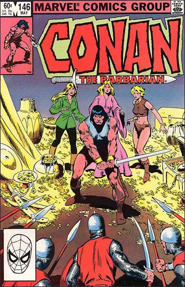 Conan the Barbarian (1970) 146-A by Marvel