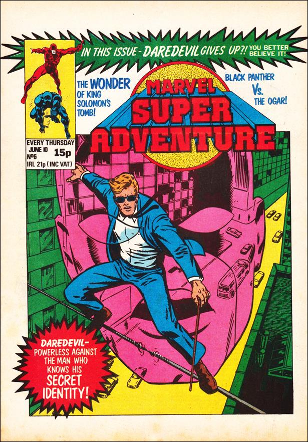Marvel Super Adventure (UK) 6-A by Marvel UK