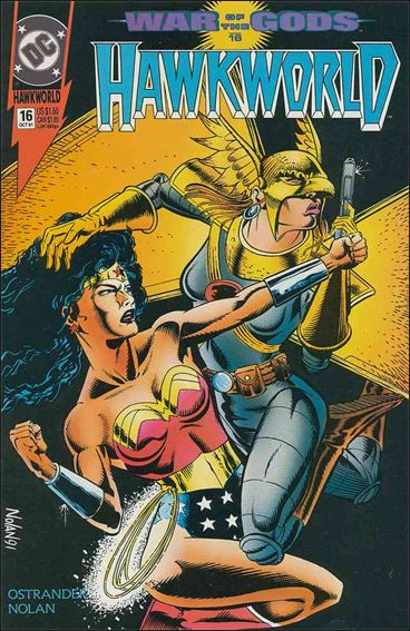 Hawkworld (1990) 16-A by DC
