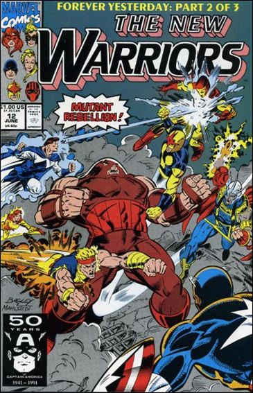 New Warriors (1990) 12-A by Marvel