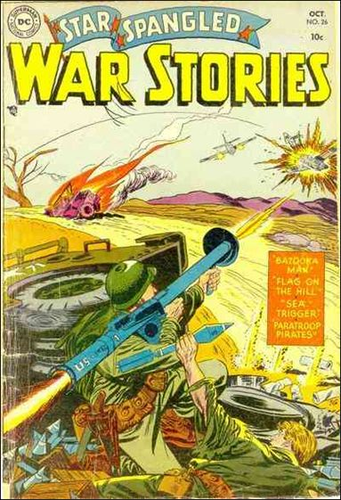 Star Spangled War Stories (1952) 26-A by DC