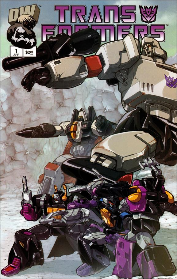 Transformers: Generation 1 (2003) 1-B by Dreamwave