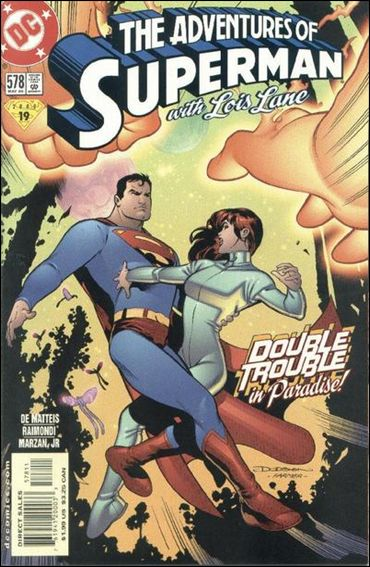 Adventures of Superman (1987) 578-A by DC