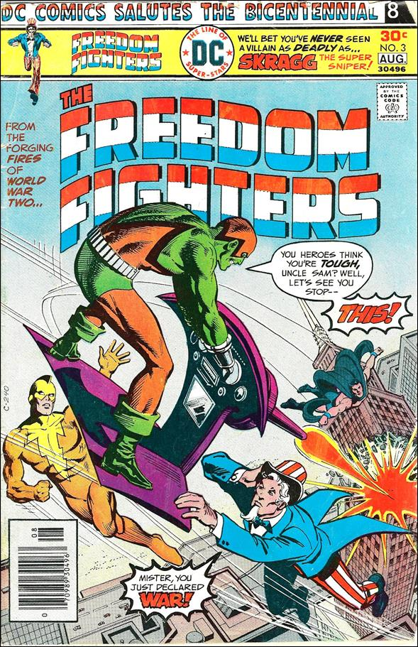 Freedom Fighters (1976) 3-A by DC